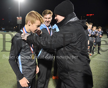 Seneca Valley vs Peters Twp in the  WPIAL Class 4A Boys soccer Finals playoff game at Highmark Stadium in Pittsburgh
