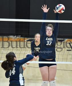 26763  Knoch vs Warren  PIAA  Class 3A Girls Volleyball Semi-Finals game at Clarion High School