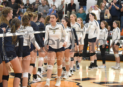 26763  Freeport vs Bald Eagle PIAA  Class 2A Girls Volleyball Semi-Finals game at Clarion High School