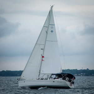 Glauberman and Golden Sailing Duel