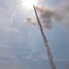 Three Rockets Skyward