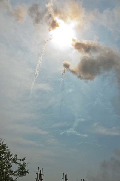 Falling Rockets Over Isaan