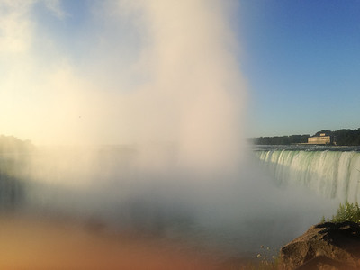 Morning at Niagara Falls, Canada
