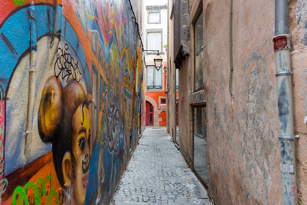 Clermont Ferrand Street View, France