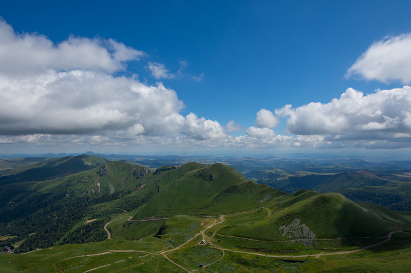 View from Puy de Sancy, France