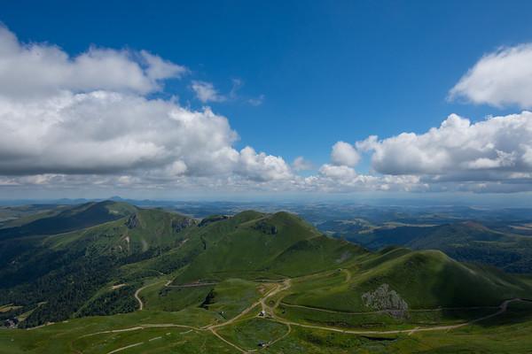 View from Puy de Sancy, France