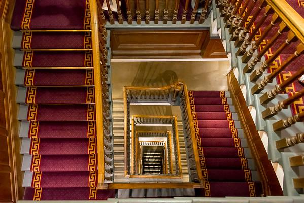 The Main Staircase, City Chambers, Edinburgh, Scotland