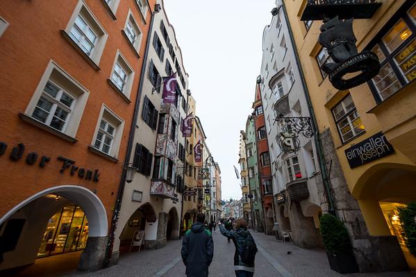 Innsbruck Street View, Austria