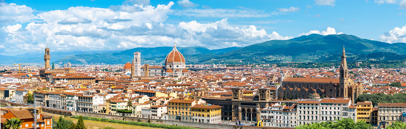 Florence seen from Piazzale Michelangelo