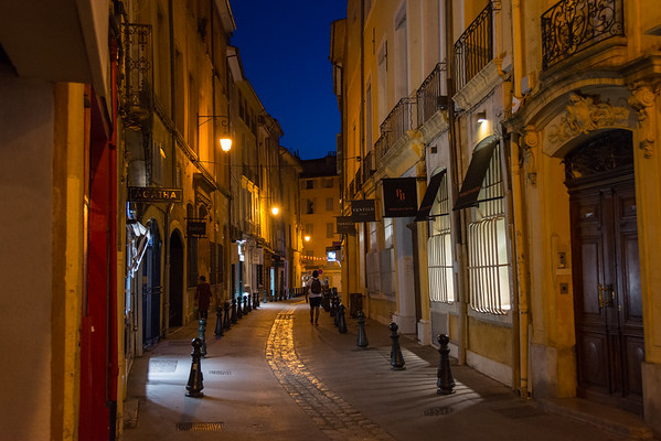 Aix-en-Provence, at Night France
