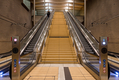 Going down, Leipzig, Germany