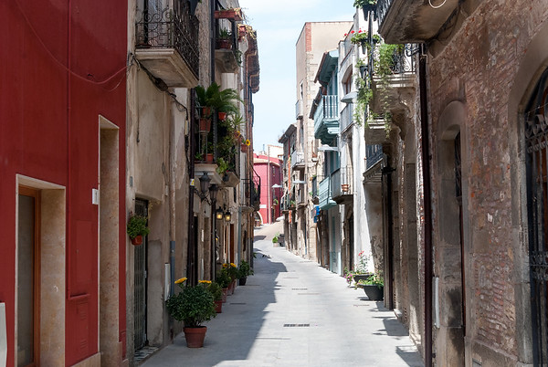 Street View Calonge, Spain