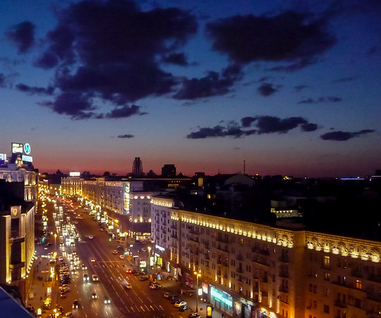 Street View, Moscow, Russia