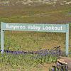 Bunyeroo Valley Lookout sign.