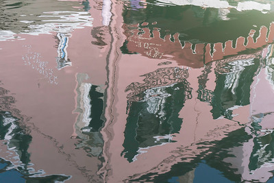 Burano canal reflection