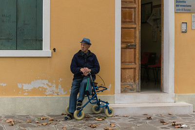Burano local resident