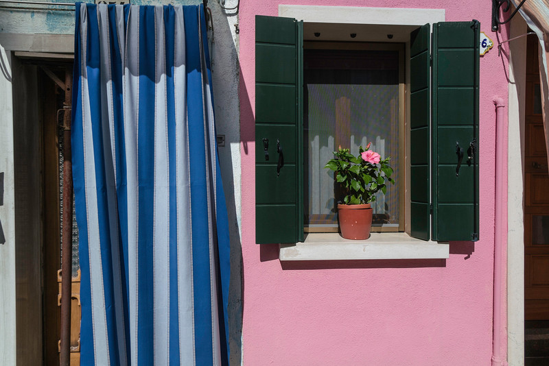 Typical Burano fascade