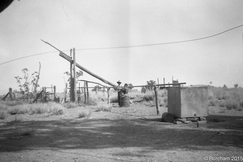1955 Fitzroy Mission.Water pump
