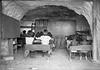 1957 Gogo School class in cave