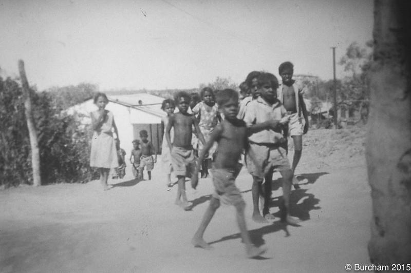 1957 Children coming to School