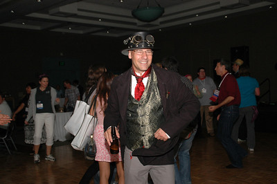 Put on your party clothes and meet a new friend at our conference.