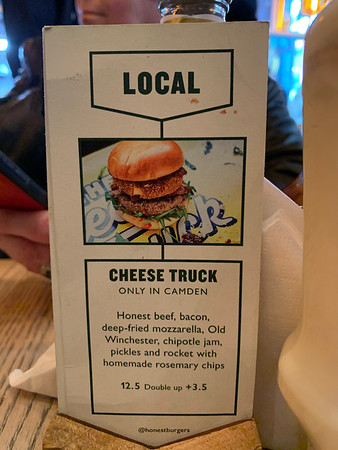 Cheese Truck on the menu