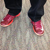 David Alford Burgundy & Orange shoes - 01