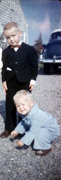 John Jim dressed up ca 1958
