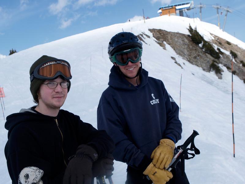 2004 Andy & Dave at Alta
