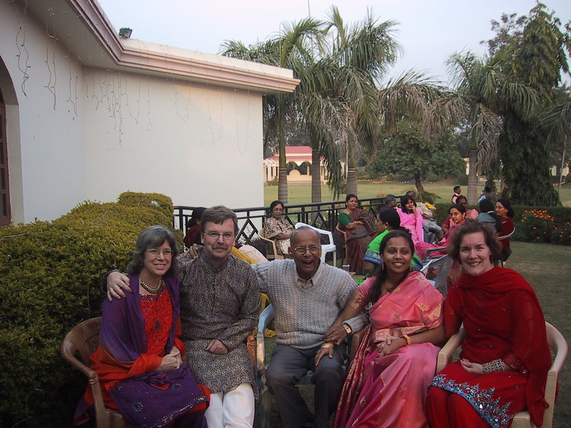 2006 India John Karen Anne Snigdha and grandfather