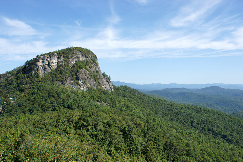 Table Rock from Chimneys Area
