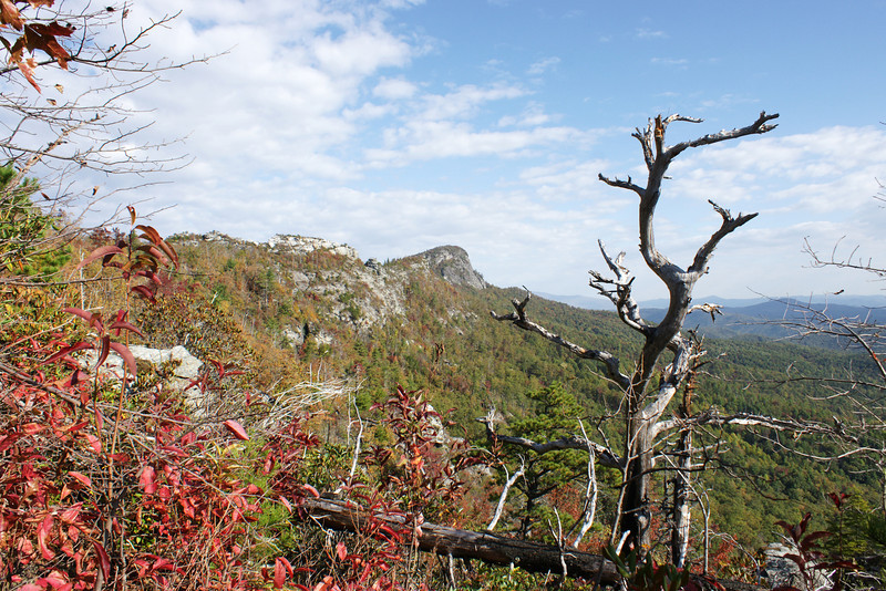 Table Rock from the Shortoff Mountain Saddle Trail