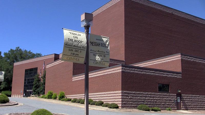 COMMA - City of Morganton Municipal Auditorium