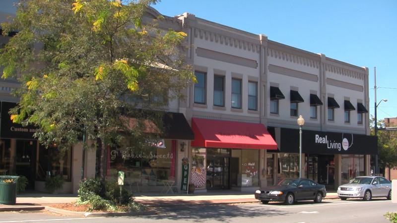 Downtown Morganton NC