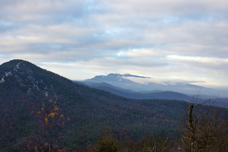 Grandfather Mountain from Table Rock Summit