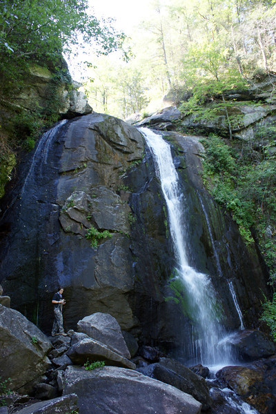 High Shoals Falls - South Mountains State Park