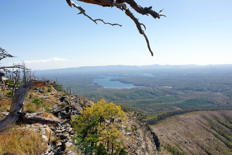 Lake James from Short off Mountain