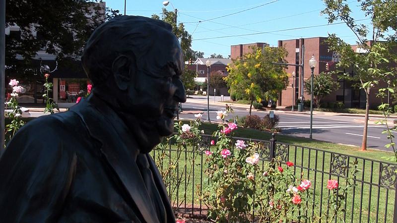 Senator Sam Ervin Statue - Courthhouse Square, Morganton, NC