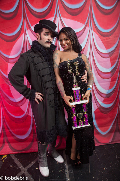 1355  BEST DUO 2013, SANDRA DORE and RUSSELL BRUNER.