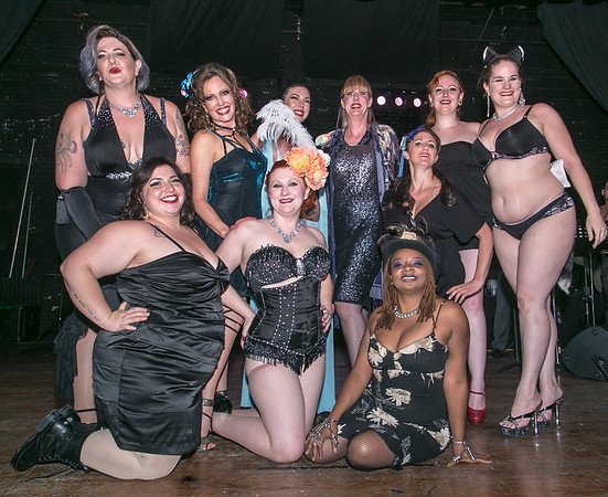Burlesque and the Band 2017