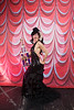 Burlesque Hall of Fame Weekend at The Orleans Hotel and Casino in Las Vegas, 2012. Koko La Douce with Most Innovative Trophy.