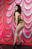 Burlesque Hall of Fame Weekend at The Orleans Hotel and Casino in Las Vegas, 2012. Miss Truvy Trollop stage kitten.