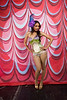 Burlesque Hall of Fame Weekend at The Orleans Hotel and Casino in Las Vegas, 2012. Miss Sioux duJour,stage kitten.