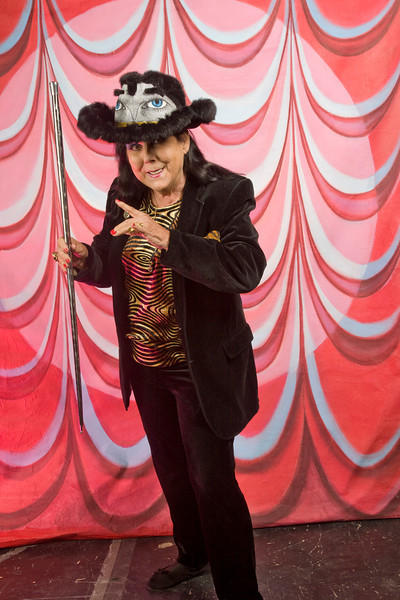 Burlesque Hall of Fame Weekend at The Orleans Hotel and Casino in Las Vegas. Lady Magic  Georgette Dante