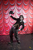 Burlesque Hall of Fame Weekend at The Orleans Hotel and Casino in Las Vegas, 2012. Sammich the Tramp of St. Louis MO.