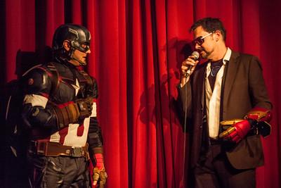 Dan Gottlieb & Handsome Brad | Captain America & Tony Stark