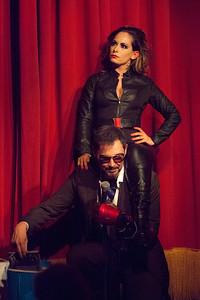 Handsome Brad & Taradise Bizub | Tony Stark & Black Widow
