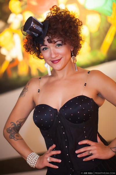 Miss Holly Peño of Shameless Burlesque
