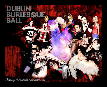 Burlesque Montage final poster