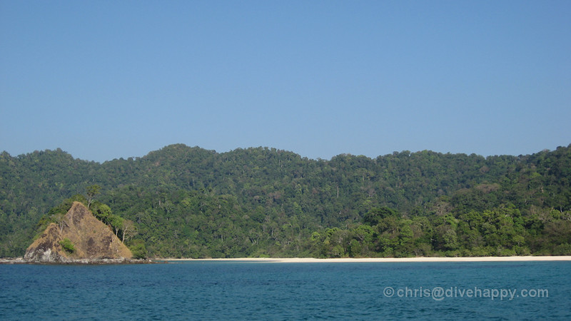 Kyunn Phi Lar Beach, Mergui Archipelago,Burma